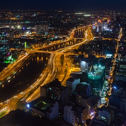 Ho Chi Minh City Night View