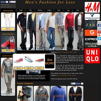 Men's Fashion For Less