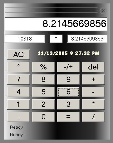 Voice Driven Calculator